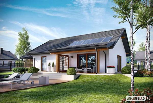 projekt Kornel VI Energo - www.archipelag.pl