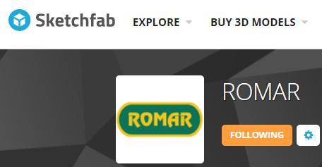Sketchfab ROMAR