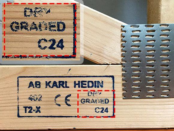 Drewno klasy C24